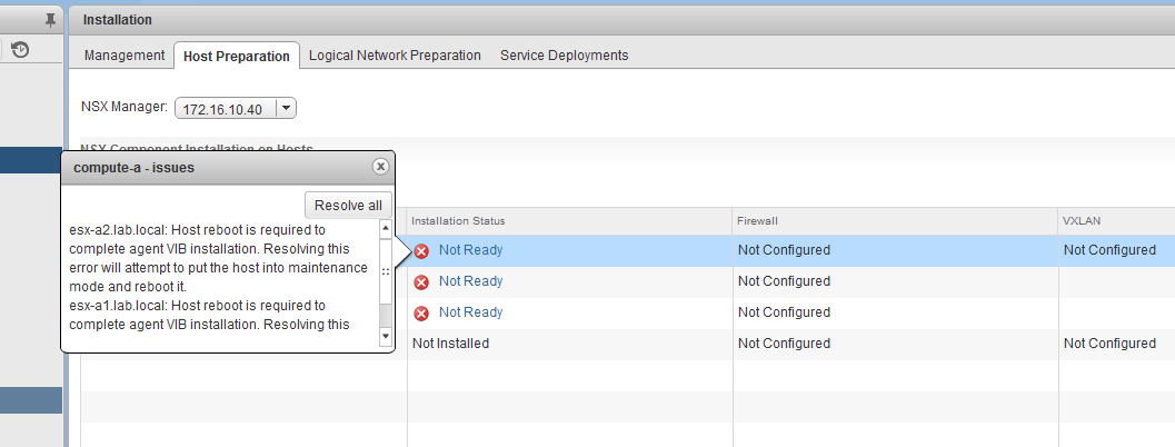 Completely Removing NSX – vswitchzero