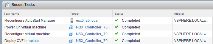 Re-deploying NSX Controllers During Upgrades – vswitchzero