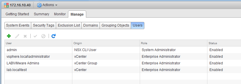 NSX Manager – vswitchzero