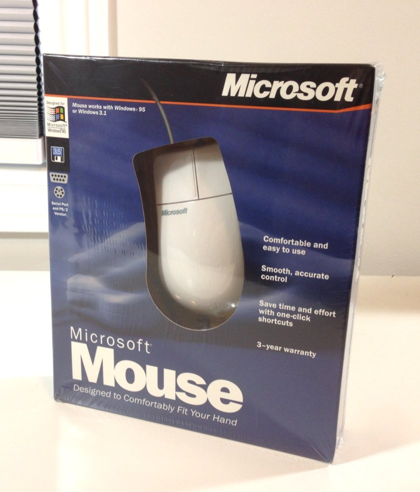 Unboxing a 22 Year Old Microsoft Mouse – vswitchzero