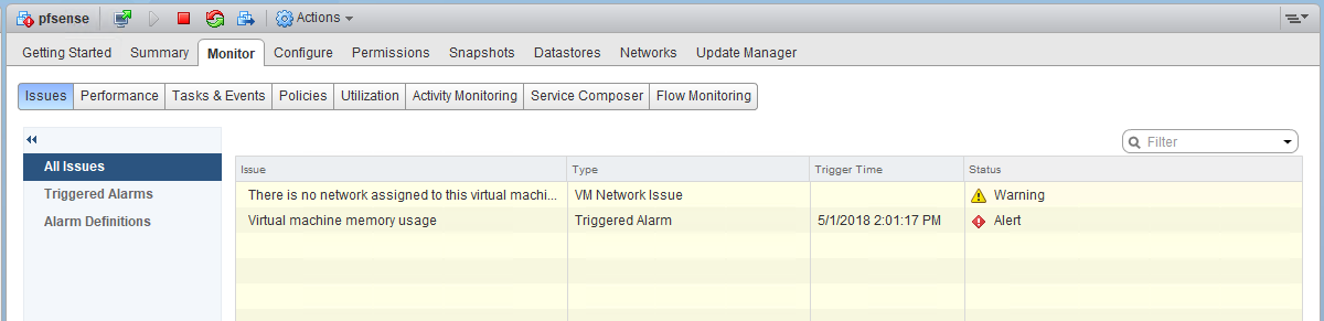 Memory Usage Alarm with PCI Passthrough VMs – vswitchzero
