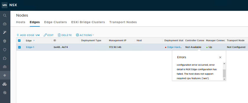 NSX-T PCPU Requirements for Edges – vswitchzero